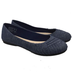 American Eagle Women's Shoes Size Us 6.5 Flat Blue